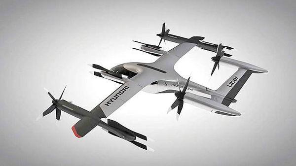 تاکسی پرنده هیوندای در 2028
