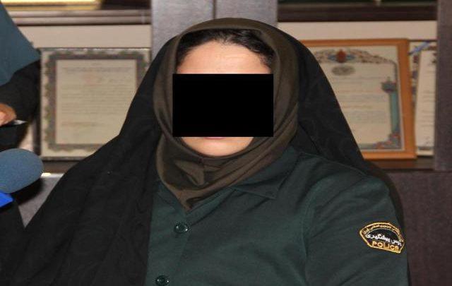مأمور قلابی زن در دام پلیس