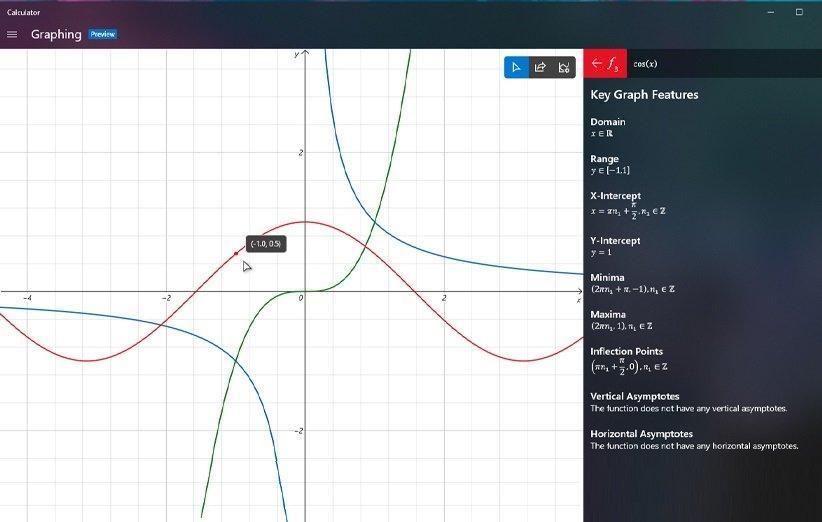 چگونه ماشین حساب نموداری جدید را در ویندوز 10 فعال کنیم؟