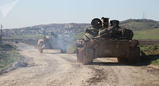 ادامه پیشروی ارتش سوریه در حومه حلب و برقراری امنیت کامل در شهر