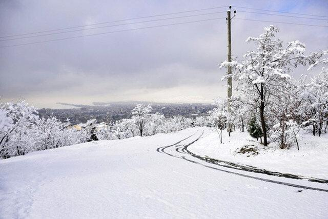 معین شدن میزان خسارت برف شهرستان های درگیر گیلان