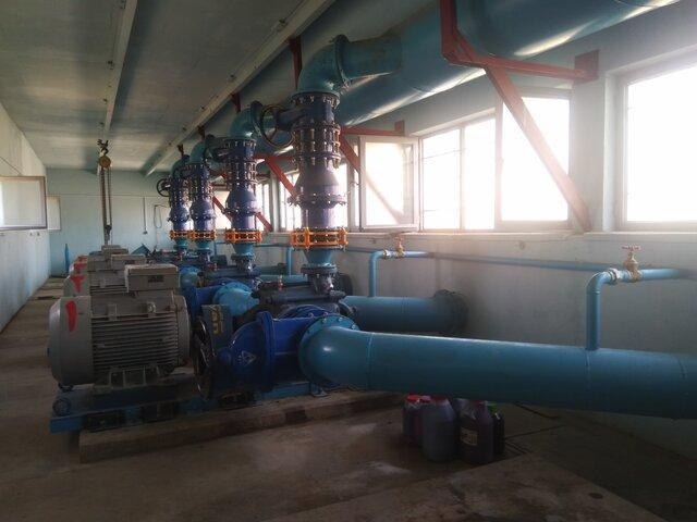 طراحی و ساخت کلکتور تصفیه خانه آب زهک