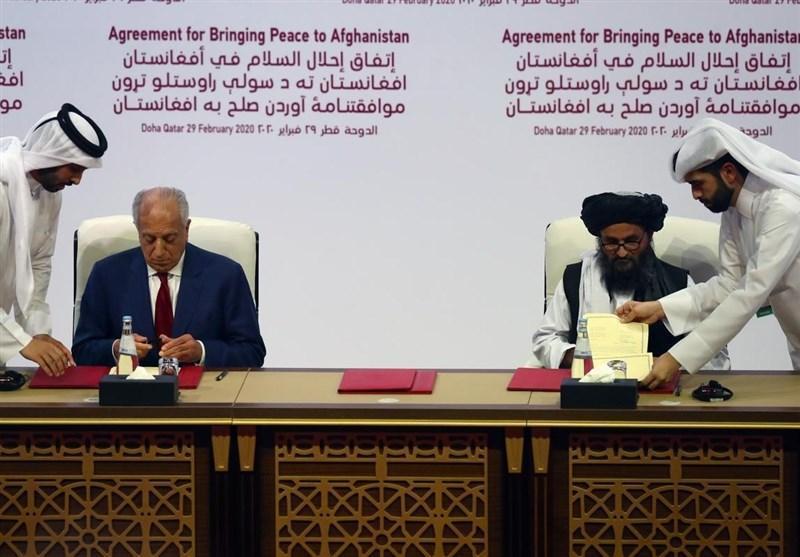 الجزیره: آمریکا مجبور به امضای توافق با طالبان شد