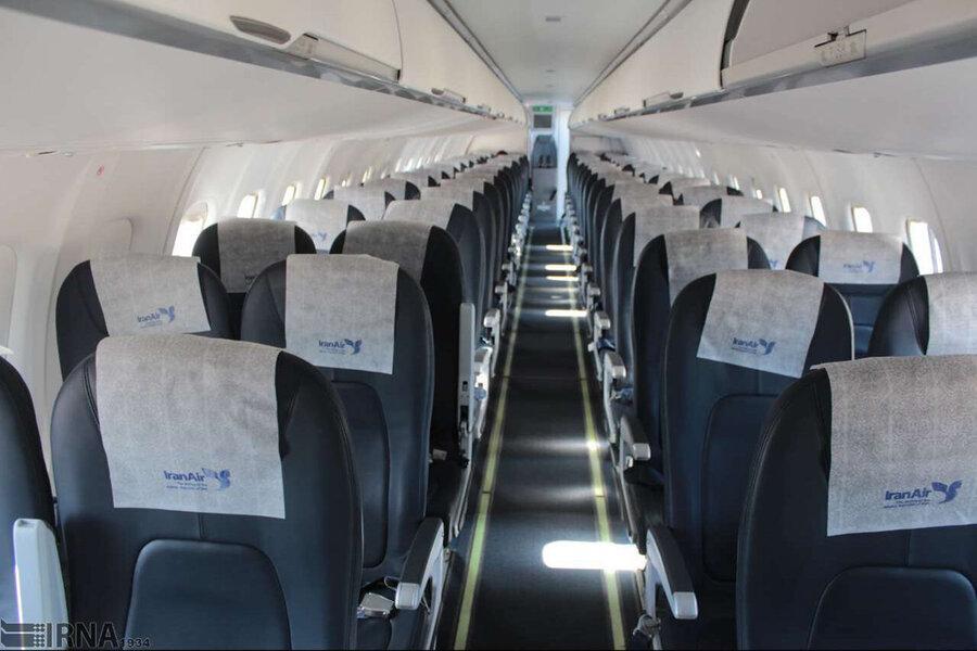 کرونا پروازهای داخلی را تا 75 درصد کاهش داد