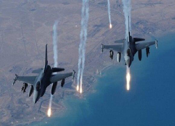 حمله جنگنده های عراقی به مواضع داعش