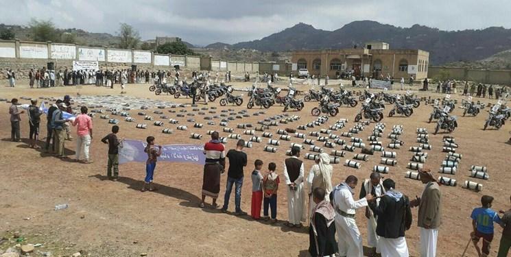 کاروان یاری های قبائل استان المحویت به ارتش و انصارالله یمن