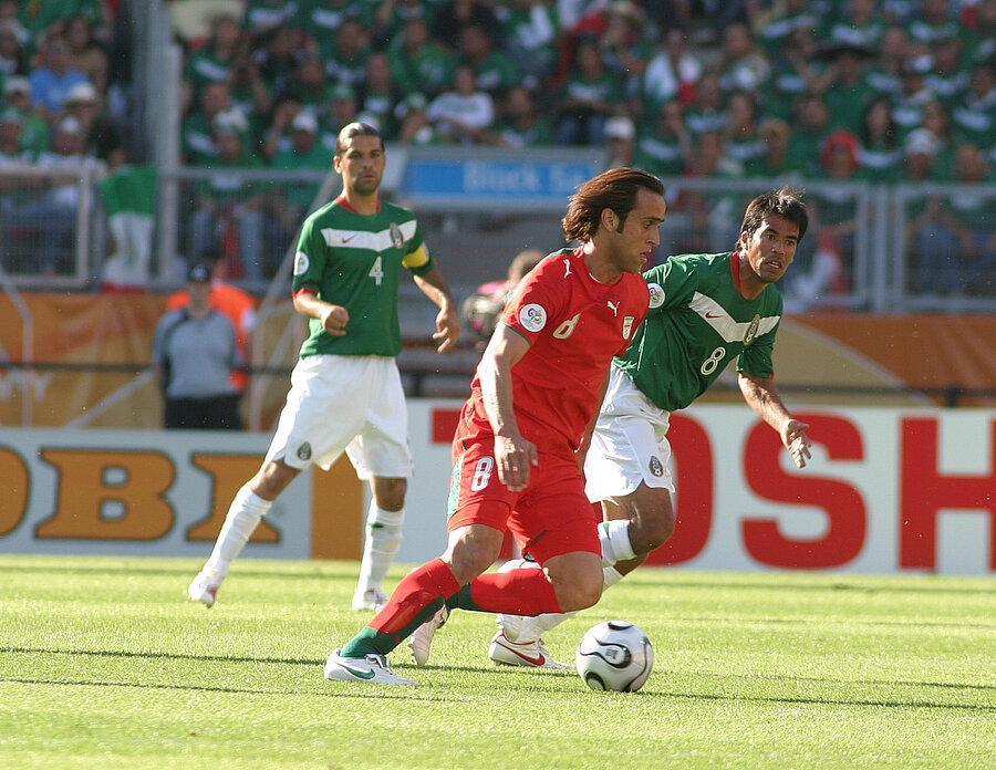 عکس ، تلخ ترین لحظه فوتبالی علی کریمی در آلمان