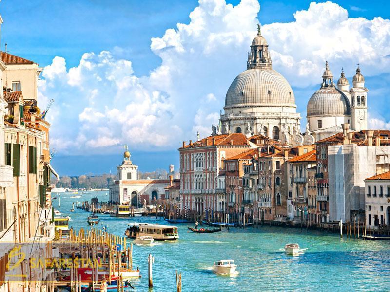 بلیط هواپیما به ونیز رمانتیک ترین شهر دنیا