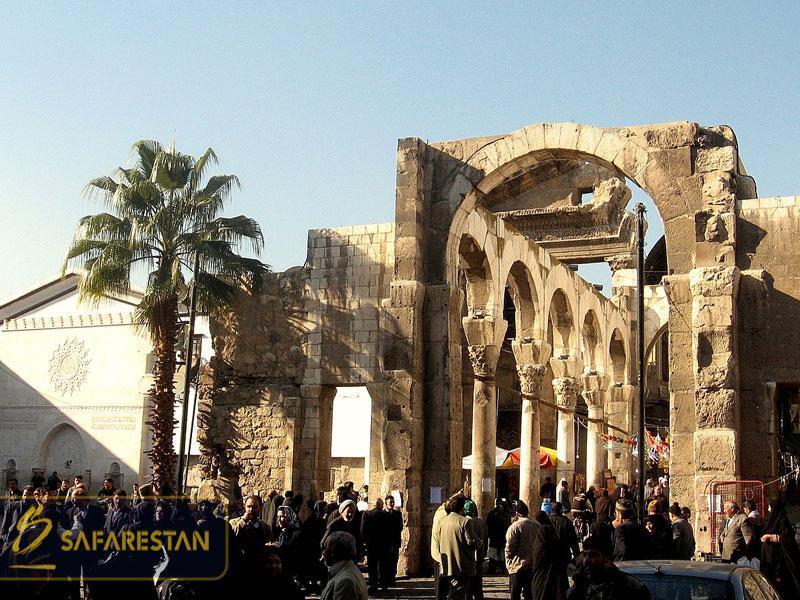 بلیط هواپیما دمشق پایتخت سوریه