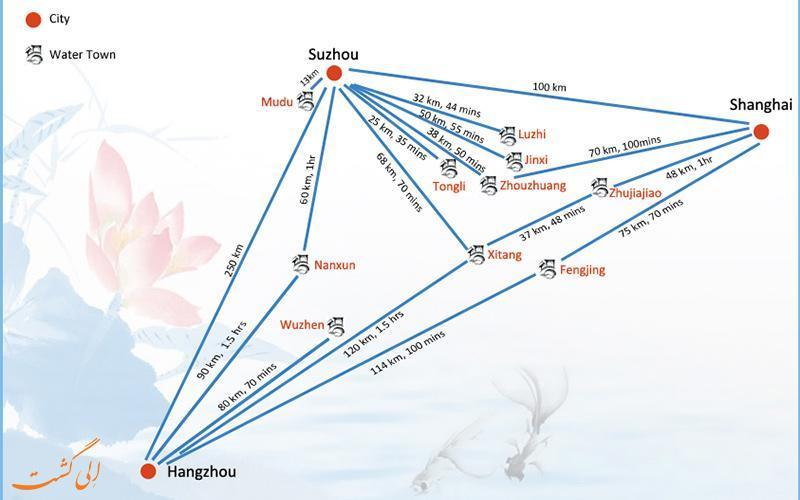 با معروف ترین شهرهای آبی چین آشنا شوید
