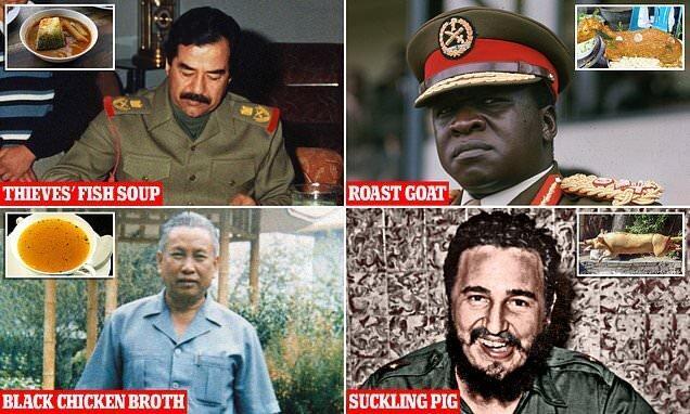 دیکتاتورها شام چه می خورند!
