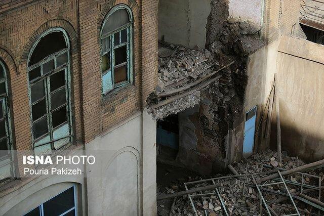 بازسازی عمارت جنانی خوب پیش می رود