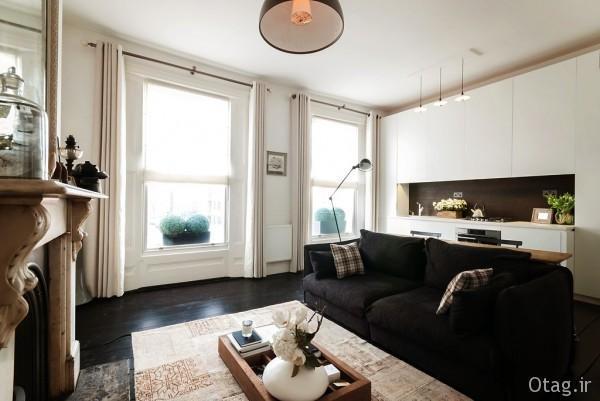 آشنایی با چیدمان و دکوراسیون آپارتمان کوچک 50 متری