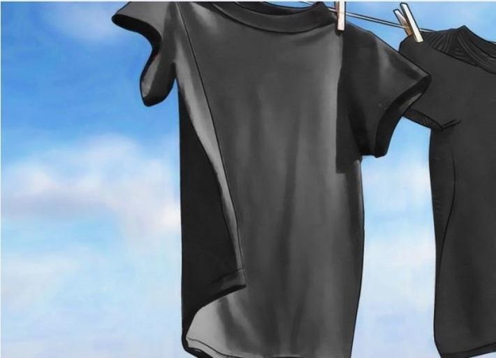 لباس های مشکی رنگ و رو رفته خود را به حالت قبل برگردانید