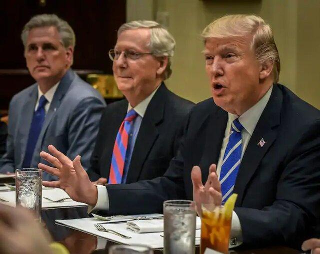 100 جمهوری خواه برجسته از ترامپ خواستند شکست را بپذیرد