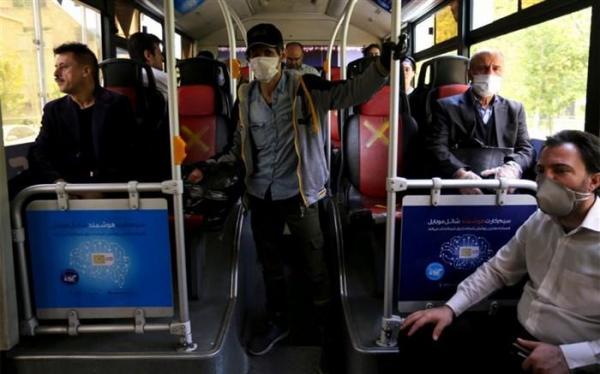 توصیه های کرونایی؛ دستگیره های اتوبوس را با دستکش یا دستمال کاغذی بگیریم