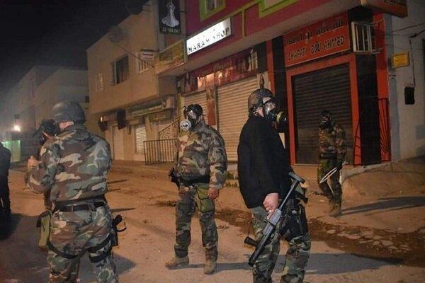 استقرار ارتش در استان های تونس، بازداشت 630 معترض