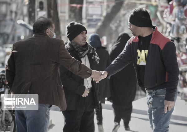 خبرنگاران پیک چهارم کرونا و بی توجهی مردم در لرستان