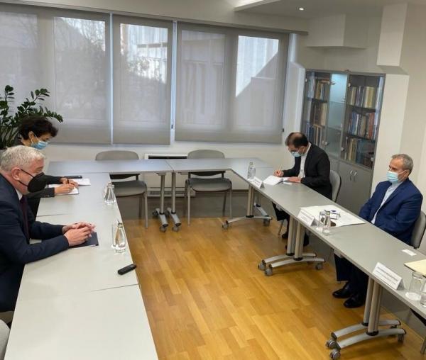خبرنگاران مونته نگرو و ایران بر ارتقاِی همکاری های اقتصادی تاکید کردند
