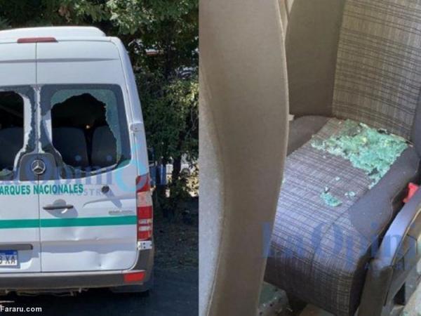 (ویدئو) حمله به خودروی رئیس جمهور آرژانتین