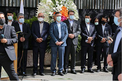 تشییع پیکر مرحومه فاطمه مظهری دومین شهید مدافع سلامت بیمارستان بانک ملی ایران