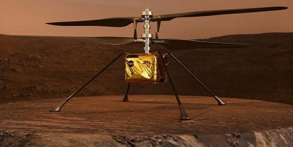 چهارمین پرواز نخستین هلی کوپتر مریخی، مأموریت جدید نبوغ در مریخ