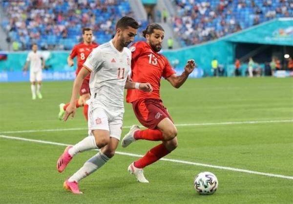 یورو 2020، جدال سوئیس و اسپانیا به روایت آمار، ماتادورها به رکورد هزار پاس رسیدند