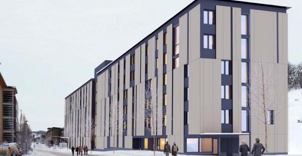 ساخت ساختمان های دانشجویی در Okanagan دانشگاه یو بی سی