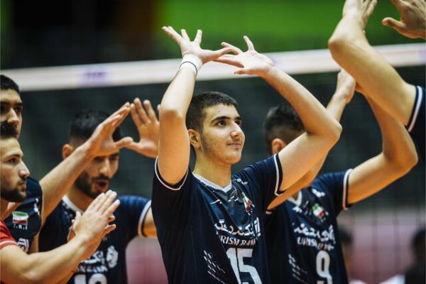 جمهوری چک حریف نوجوانان ایران در مرحله یک هشتم مسابقات والیبال قهرمانی دنیا