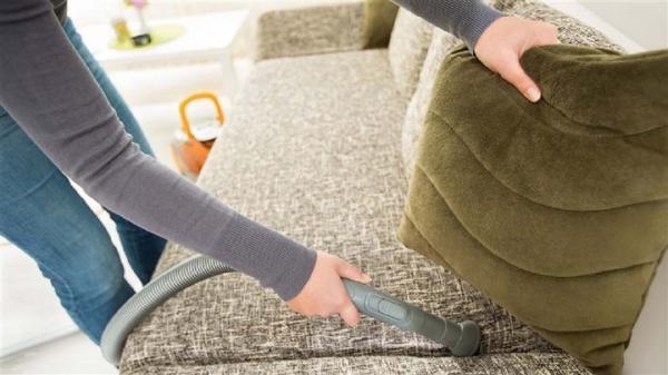 برترین روش های تمیز کردن انواع مبل پارچه ای با جوش شیرین، سرکه و &amphellip